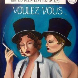 ''Voulez Vous'' oil on canvas, 60cm x 75cm - SOLD
