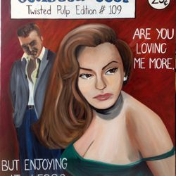 ''Are you loving me more..'' - oil on canvas 60 x 75 CM - SOLD