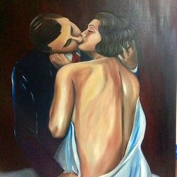 ''Only You'' oil on canvas 100 x 75cm $250 AUD plus shipping
