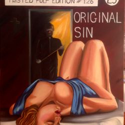 ''Original Sin'' oil on canvas, 60 x 75cm - SOLD