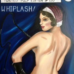 ''Whiplash'' - oil on canvas 60 x 75cm - SOLD