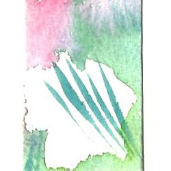 J. Popolin original abstract painting