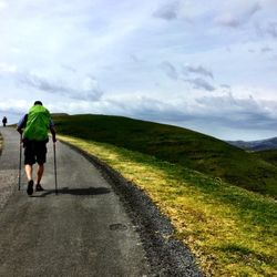 Camino de Santiago (French Route) between St Jean and Roncesvalles