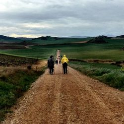 Camino de Santiago (French Route) between Estella and Los Arcos