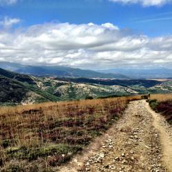 Camino de Santiago (French Route) near Foncebadon