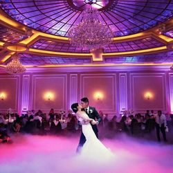 low lying fog for your 1st dance