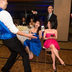bringing out the fun and excitment of each wedding celebration..