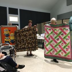 Parade of Quilts at 10 January 2020 guild meeting