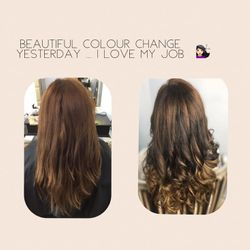 hair extensions appliaction