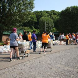 GoodWorks food distribution with OneGen in Millersville.