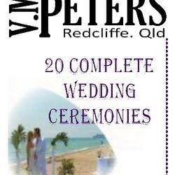 Twenty Complete Wedding Ceremonies