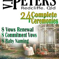 24 Complete Ceremonies - Wedding, Vows Renewal, Commitment Vows