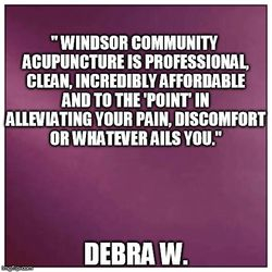 acupuncture, Windsor