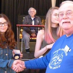Jack Petchey Winner Charlotte Butler