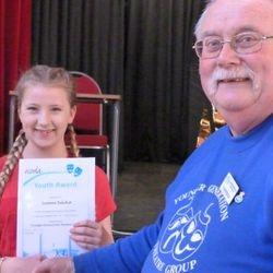 Leanne Belcher NODA 3 Year service Award