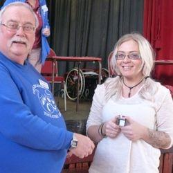 Gemma Skilton NODA 10 Year service Award