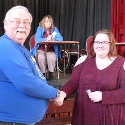 Emma Crozier NODA 15 Year service Award