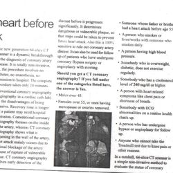 "The Times of India:  Article by Dr. Dash on ""Knowing your Heart before a Heart Attack"" in the year 2007."