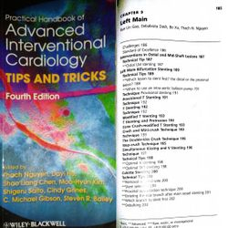 "A Chapter by Dr. Dash in the handbook ""Advanced Interventional Cardiology""."