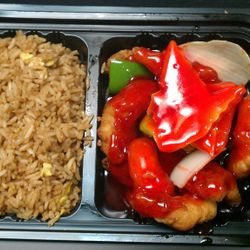 Combo Sweet n Sour chicken.