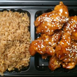 Combo Sesame Chicken