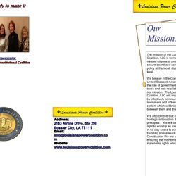 Created By Stephanie - Brochure Mailer for LPC
