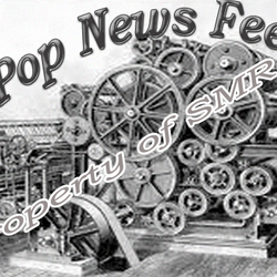 Created By Stephanie - Logo for Pop News Feed for website
