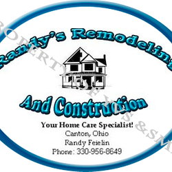 Created By Stephanie - Business Card for Randy Feielin Remodeling