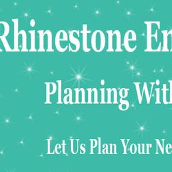 Created By: Stephanie - Rhinestone Entertainment Logo Banner for Website.