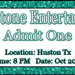 Created By: Stephanie - Rhinestone Entertainment Tickets to print out for the shows.