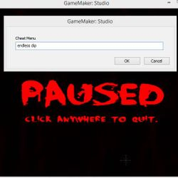 Pause Menu (we are putting in a cheat here)