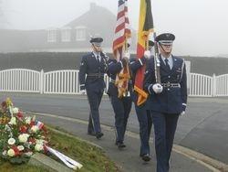 Honor guard USAF Spangdahlem