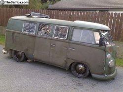 dubbel door army bus
