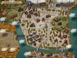 Oghaz Nan Map