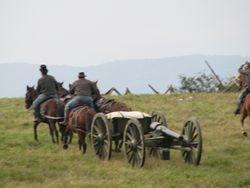 Horse drawn artillery
