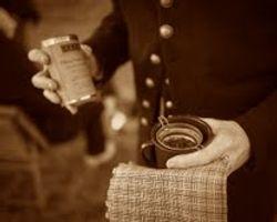 Chaplain Mills' tea