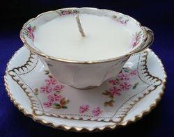 CLEAN COTTON MASSAGE CANDLES TEA CUP
