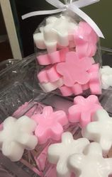 PINK and WHITE SOAP FAVOR
