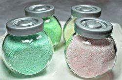 BATH SALTS and SUGAR SCRUBS JAR