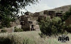 Takistani Village