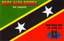 283 PAS/DX - St. Kitts & Nevis Island