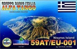 59AT/EU001 Nisyros Isl. - Dodecanese Islands