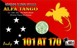 101 AT 170 Andy - Papua New Guinea