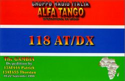 118 AT/DX - The Gambia