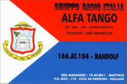 166 AT104 Randolf - St. Marteen  (166 DXCC Deleted)