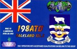 198 AT/0 - Falkland Isls.