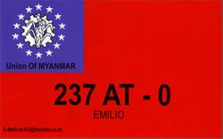 237 AT/0 - Union Of Myanmar