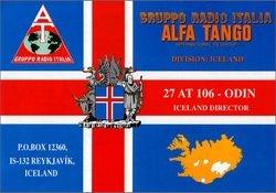 27 AT 106 Odin - Iceland