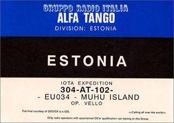 304 AT 102 Vello - Estonia