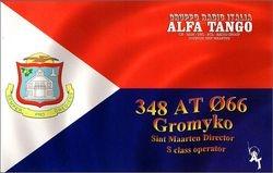 348 AT 066 Gromyko - St. Maarten